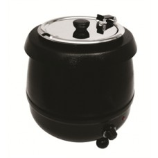Soup Kettle 10 litre Black