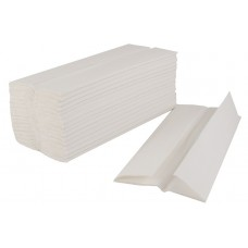 C Fold Hand Towels White