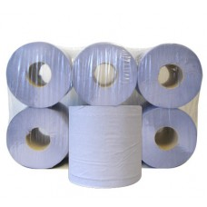 Centrefeed Roll 2ply Blue