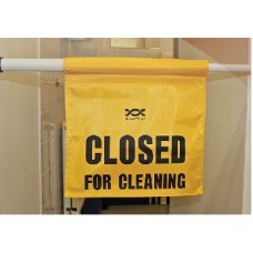 Closed for Cleaning Sign.