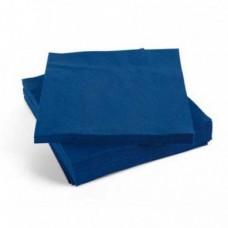 Napkin Dark Blue 3 ply 4 fold