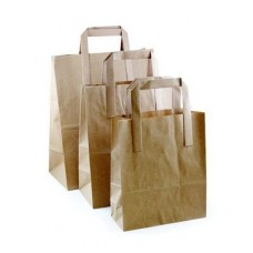 Brown Takeaway Carriers Medium