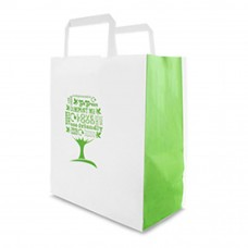 Vegware Green Tree Carrier Bag