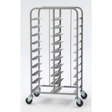 Kwik Kleer Tray Trolley Grey