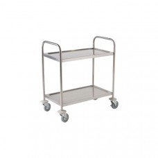 2 Tier Clearing Trolley St/St